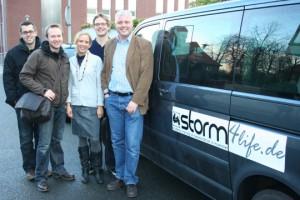 Das STORM-Team aus der Mensa